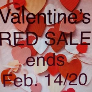 RED SALE DAYS!!!